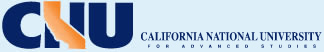 California National University Logo - Return to Home page